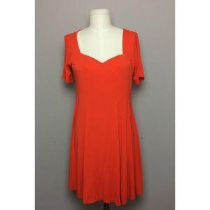 ASOS Fit n' Flare Short Sleeve Dress